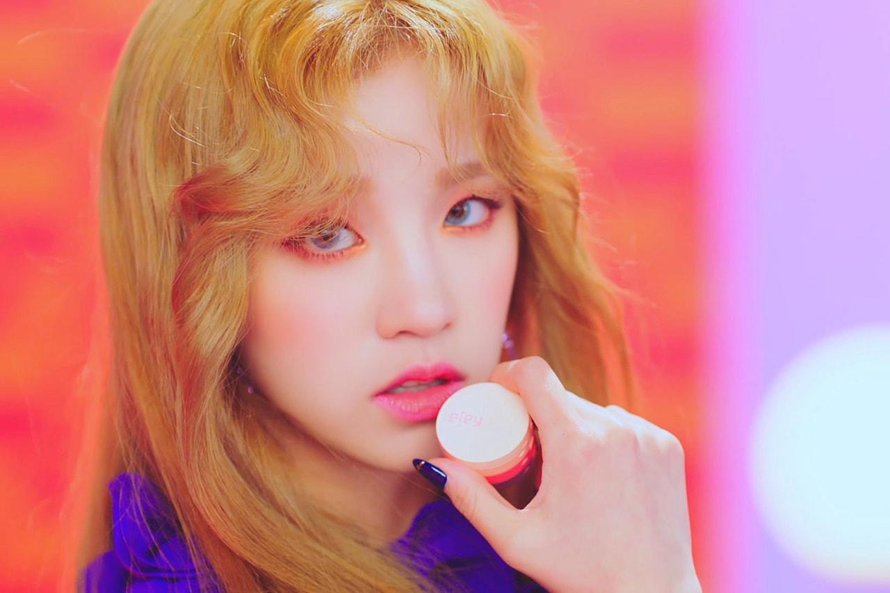 (G)I-DLE K-pop Girl Group Kaja Partnership Music Video Senorita I Made Second Mini Album Korean Miyeon Minnie Soojin Soyeon Yuqi Shuhua