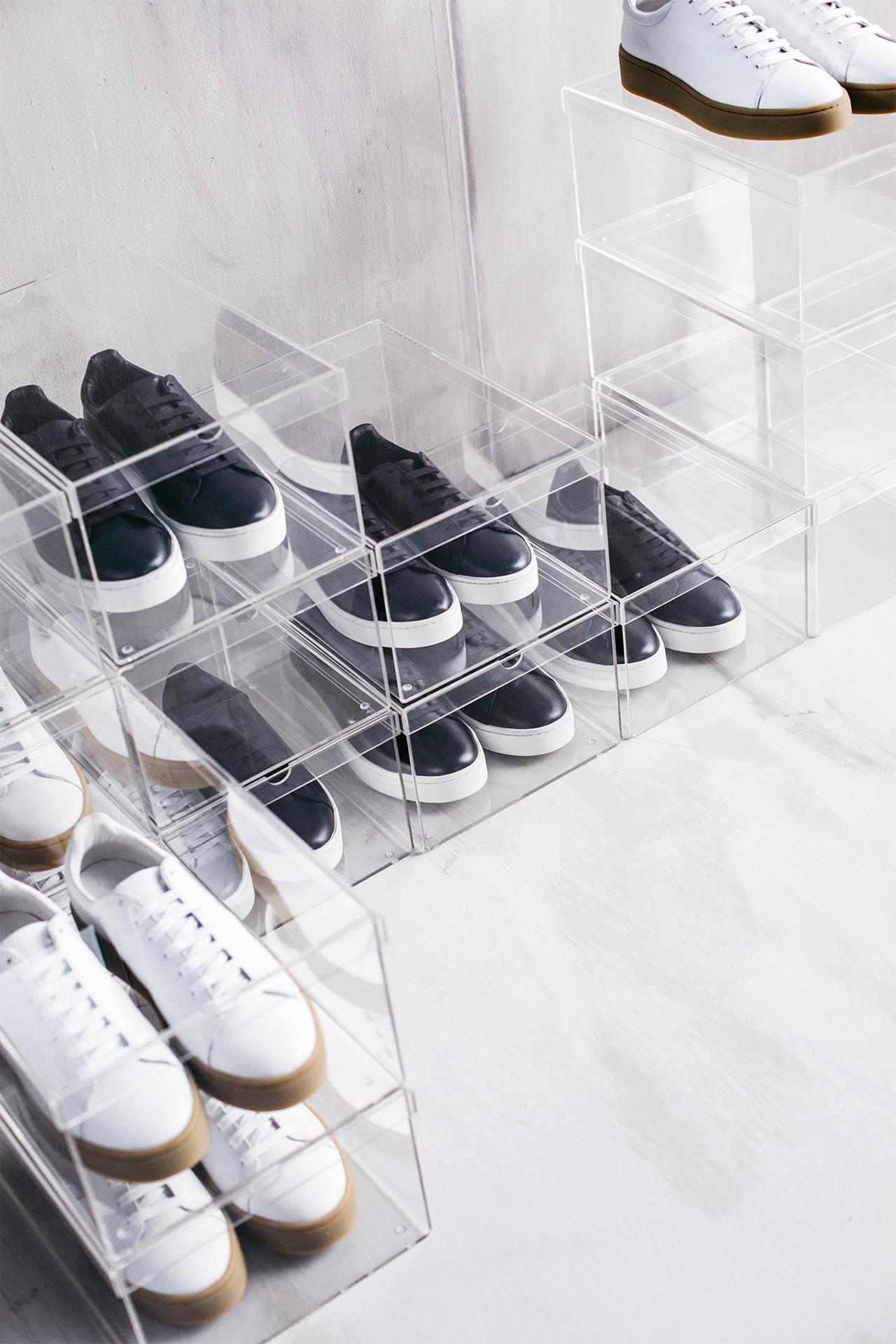 Sneaker Sneakers Shelf Clear Drawers Home Decor Comme Des Garcons Plastic Bag Prada Shoe Boxes Streetwear Fashion