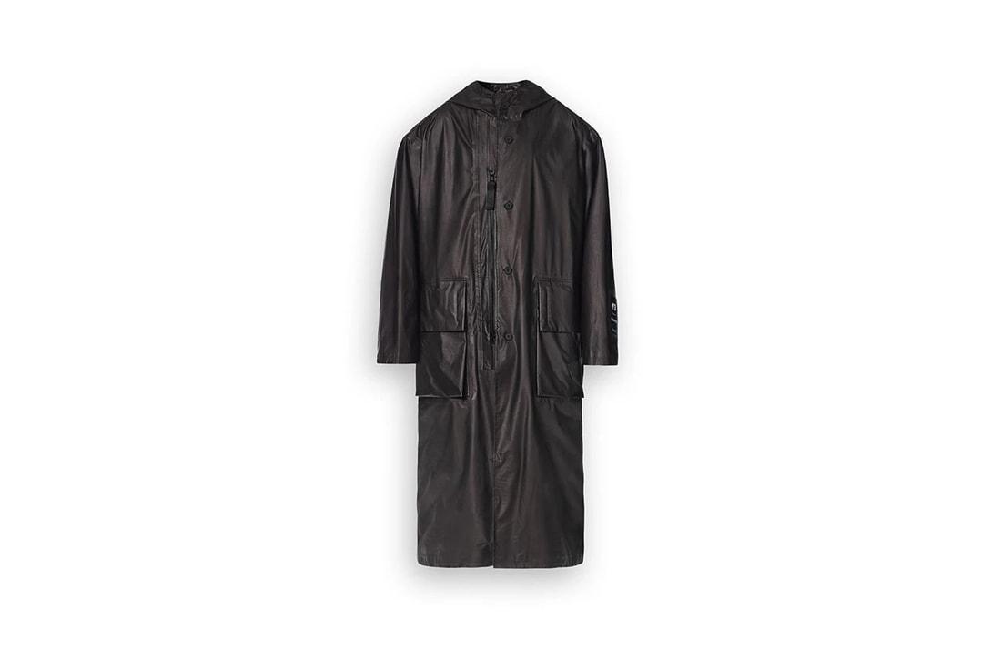 Y-3 GORE-TEX Long Coat Black Campaign