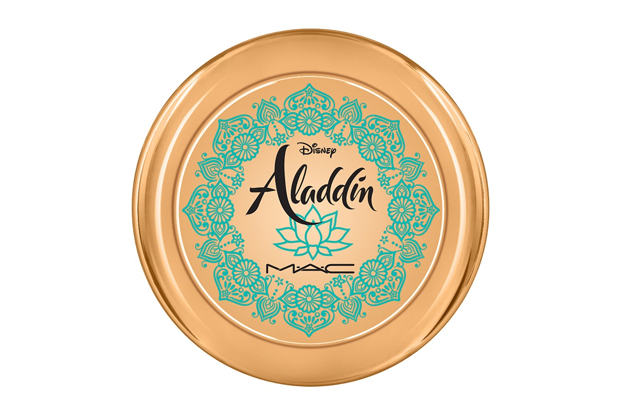 Disney x MAC Cosmetics Aladdin Makeup Collaboration Lipstick Eyeshadow Palette Bronzer Lamp Jasmine Princess 2019 Beauty