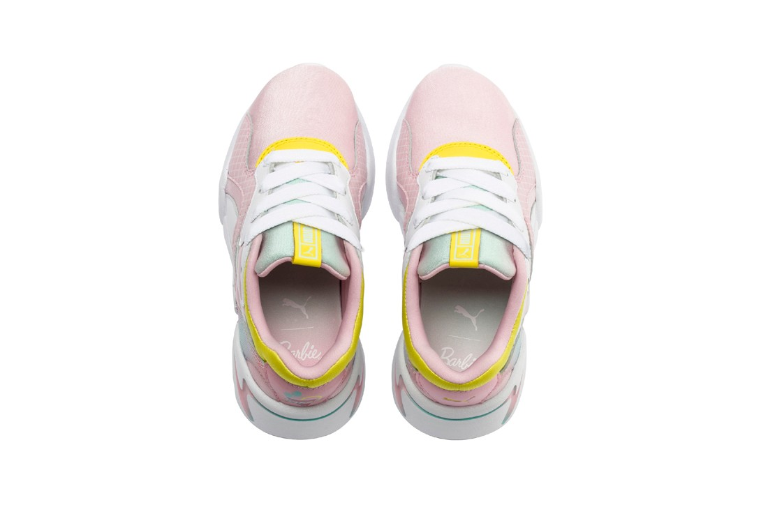 Barbie x PUMA NOVA Sneaker Pack Collaboration Pink