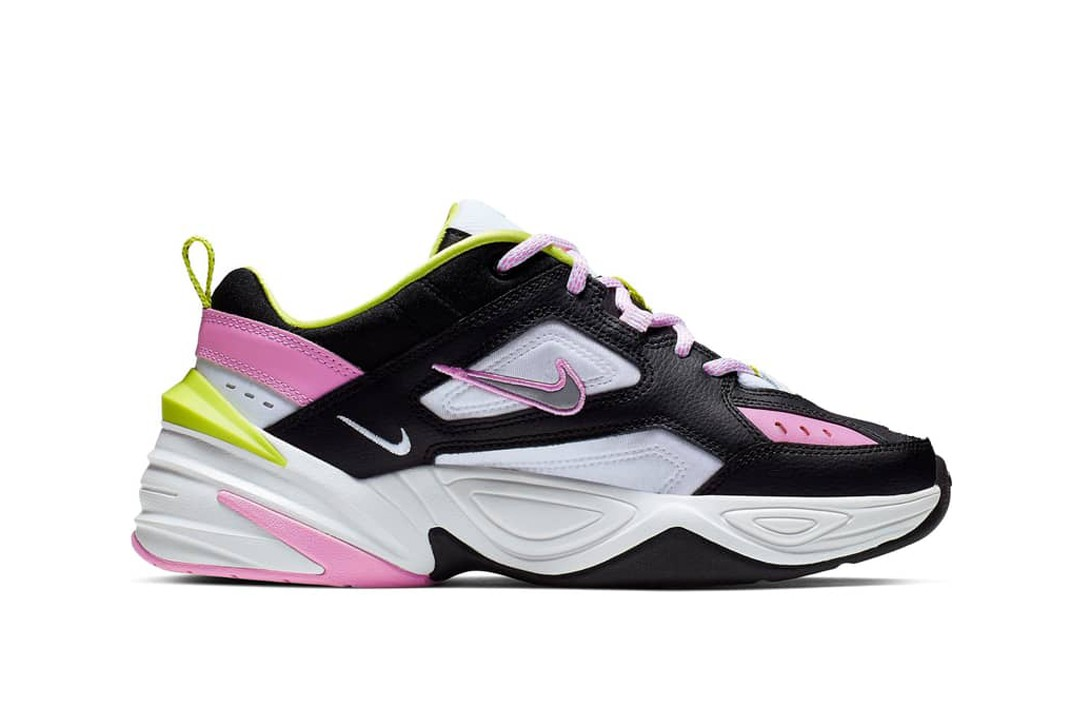 Nike M2K Tekno Black Metallic Silver Pink Converse Chuck 70 Bold Citron Oxygen Purple Lt Racer Blue adidas Yung-1 Light Gray Sky Blue