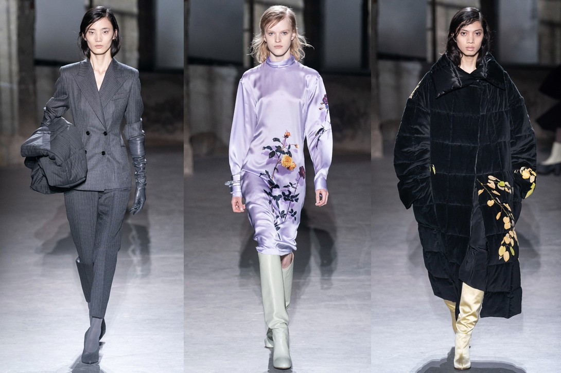 Paris Fashion Week Fall/Winter 2019 Best Shows PFW FW19 Rick Owens Dries Van Noten Maison Margiela Saint Laurent Loewe MArine Serre Jonathan Anderson Anthony Vaccarello