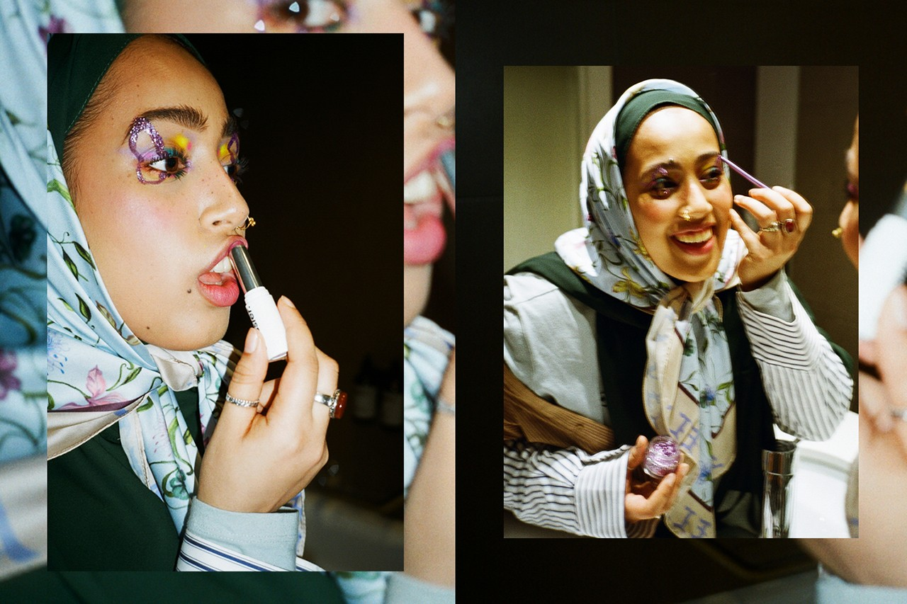 Salwa Rahman urgalsal Makeup Artist Instagram Beauty Cosmetics Skincare London Creative Editorial Interview