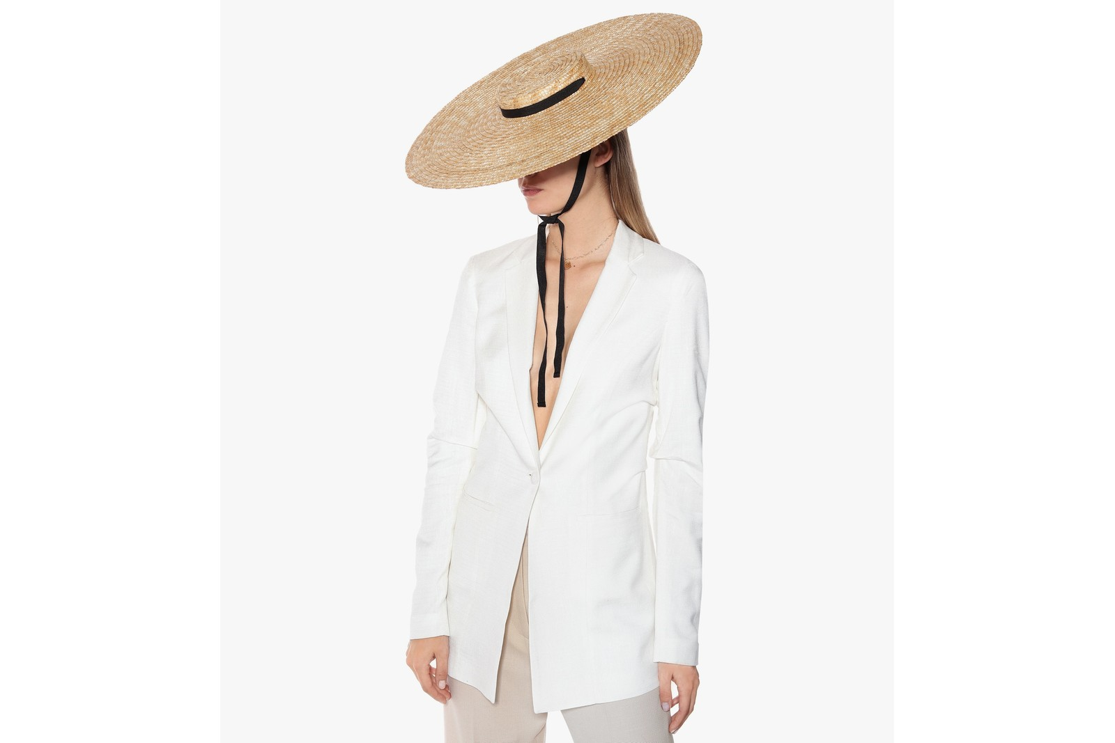 Luxury Straw Hats Saint Laurent Jacquemus Gucci Fashion Accessory