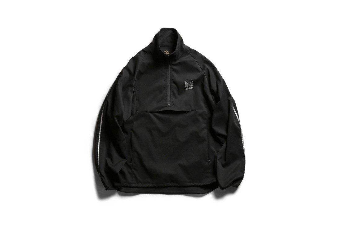 A$AP Rocky AWGE x Needles Spring Summer 2019 Capsule Collection Track Jacket Black