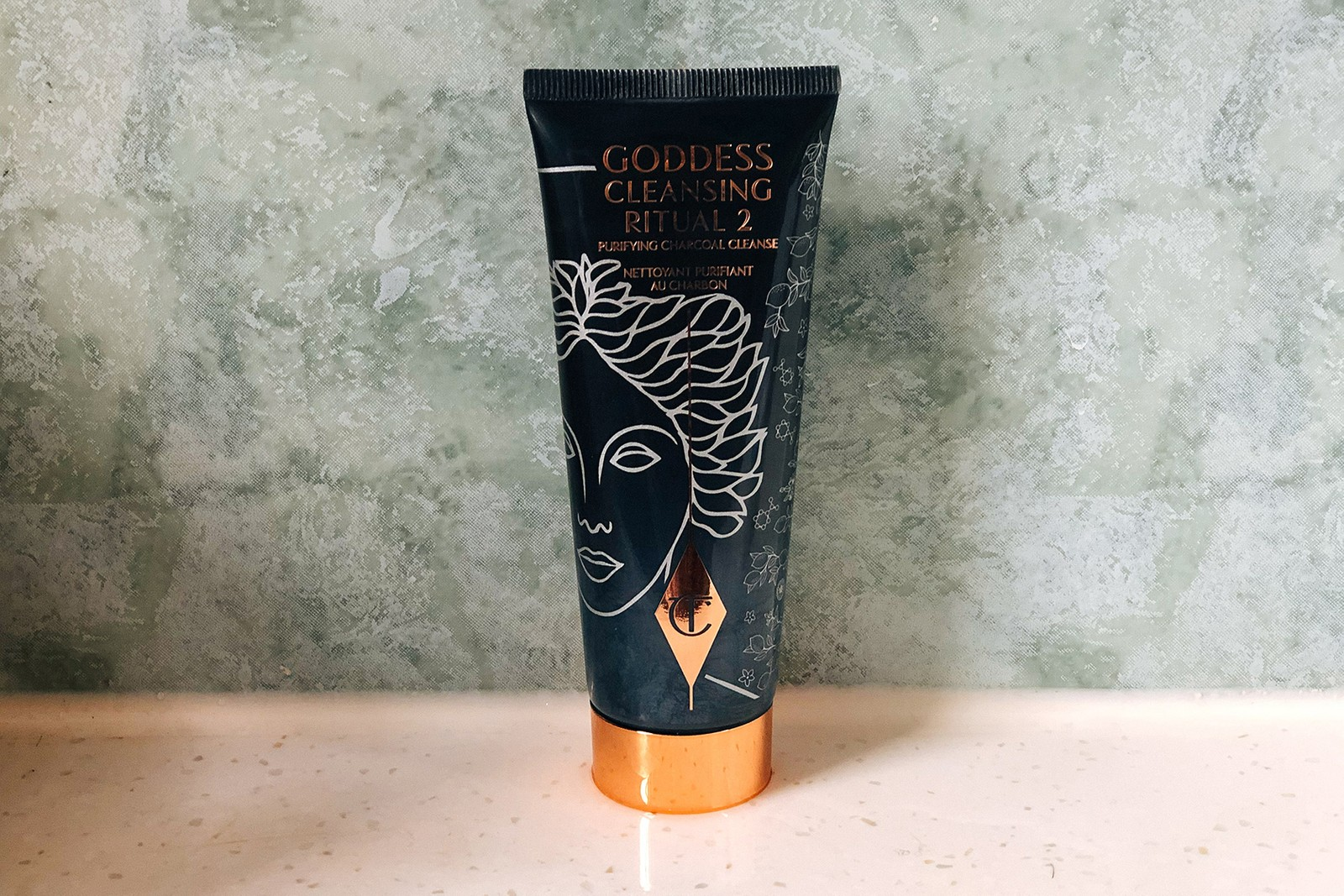 charlotte tilbury goddess cleansing ritual duo cleanser beauty skincare