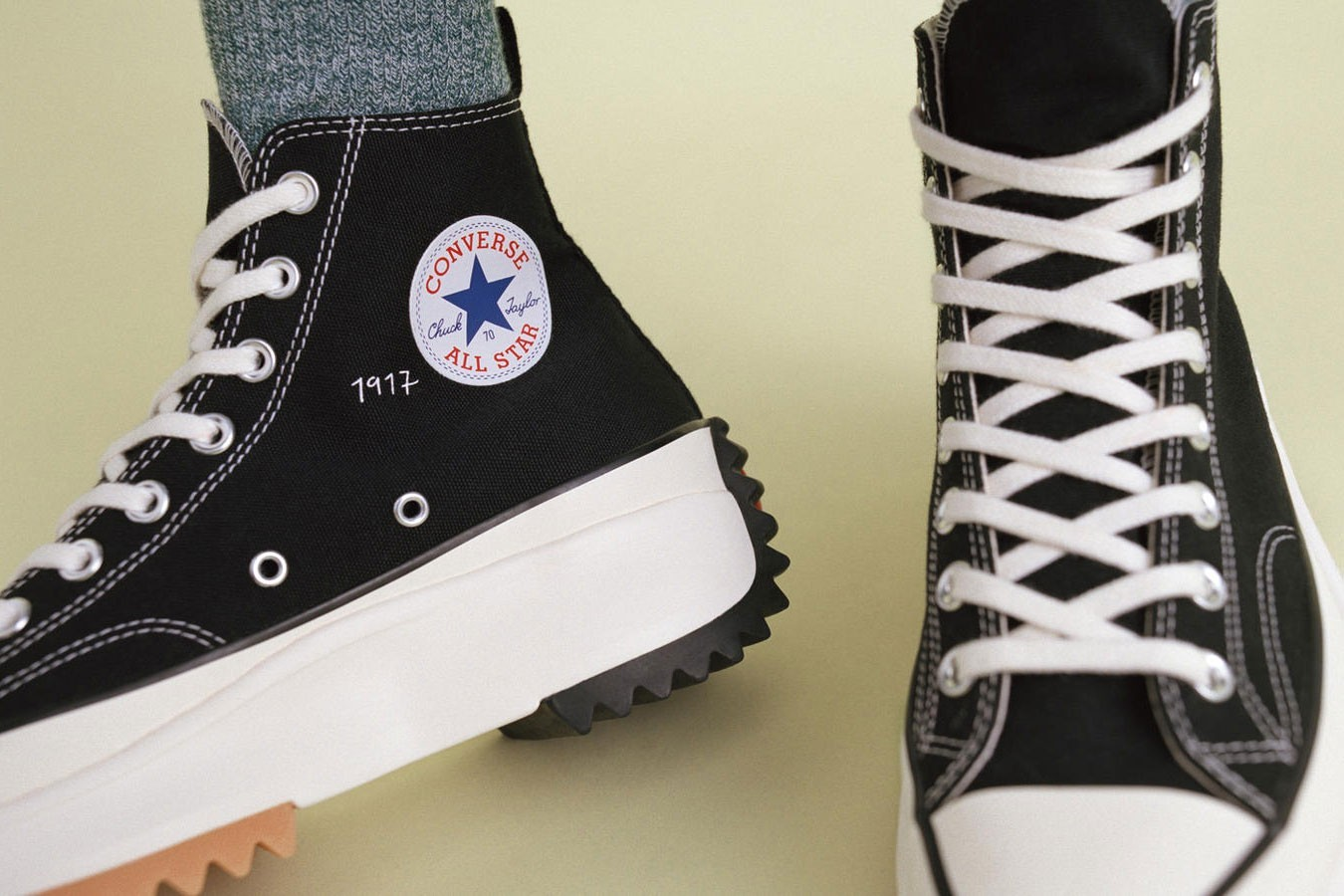 JW Anderson Converse Run Star Hike Sneaker Sneakers Spring Summer 2019 SS19 Black White Collaboration Platform