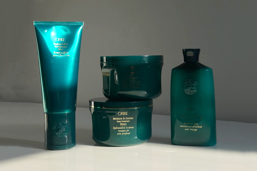 Oribe Highly Textured Natural Hair Products Priming Lotion Curl Gelee Styling Butter Deep Treatment Masque