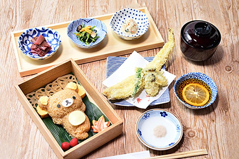 Rilakkuma Kaoru Themed Cafe Teahouse Miyajima Hiroshima Japan San-x Netflix