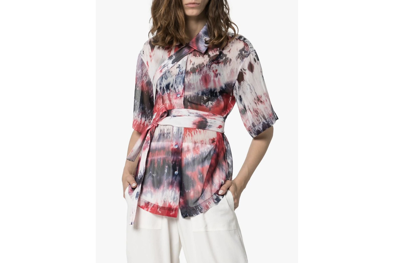 Tie-Dye Trend Spring Summer Pattern Print Color AMBUSH Balenciaga Ganni Asai Prada
