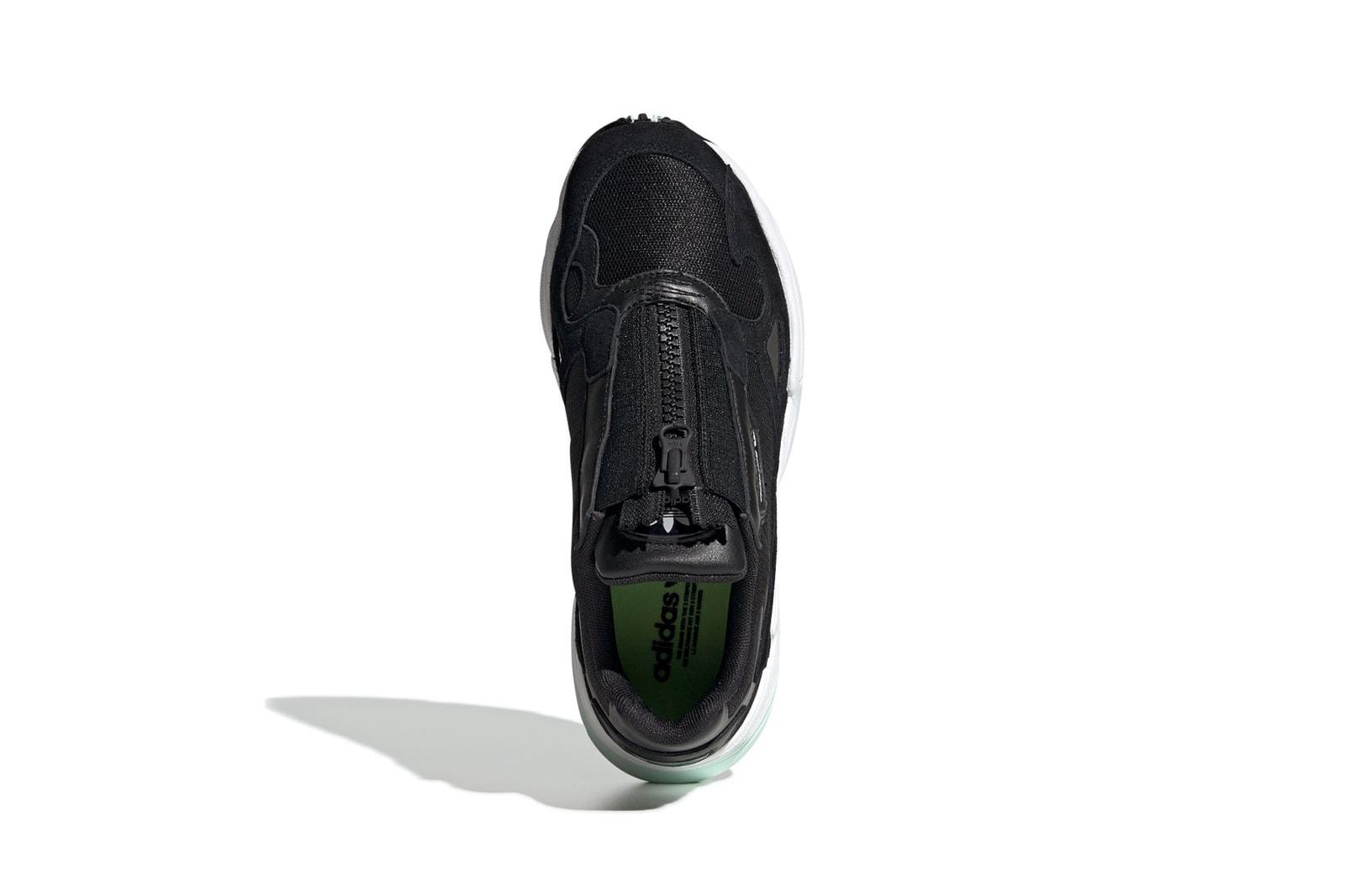 adidas Originals Falcon Zip Black Off White