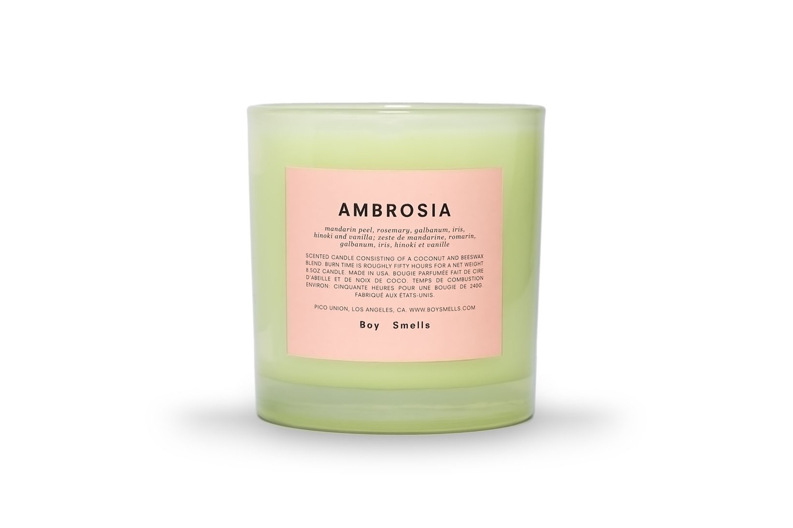 Boy Smells Chromesthesia Candles