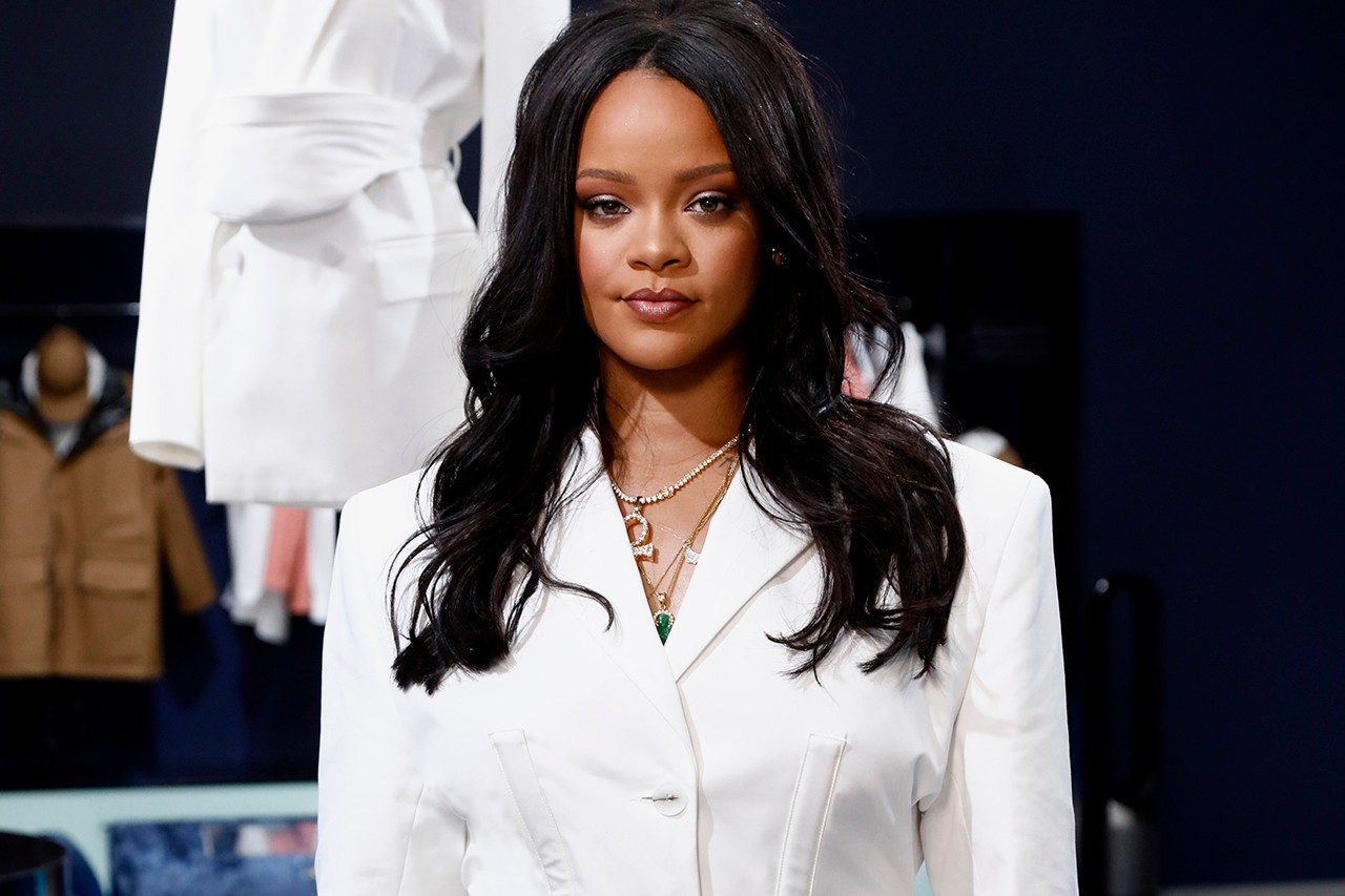 Rihanna Fenty Campaign Glen Luchford JoAni Johnson Model 67 Year Old Fashion LVMH Luxury Brand Maison Gray Grey Long Hair