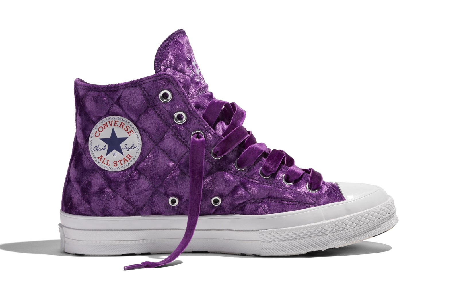 Tyler the Creator' GOLF le FLEUR* Converse Quilted Velvet One Star Chuck 70