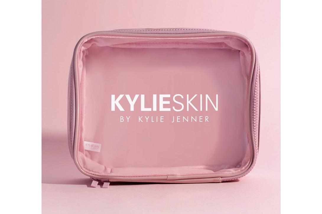 Kylie Skin Walnut Face Scrub Foaming Wash Moisturizer Vanilla Milk Toner Vitamin C Serum Eye Cream