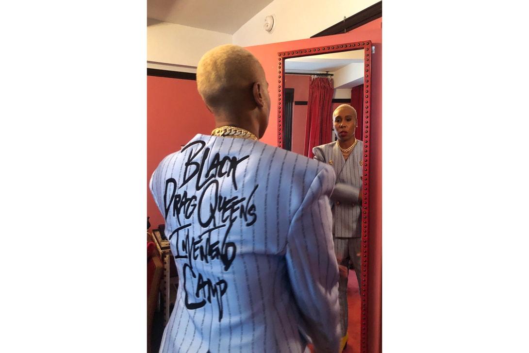Lena Waithe Met Gala 2019 Pyer Moss Suit Blue