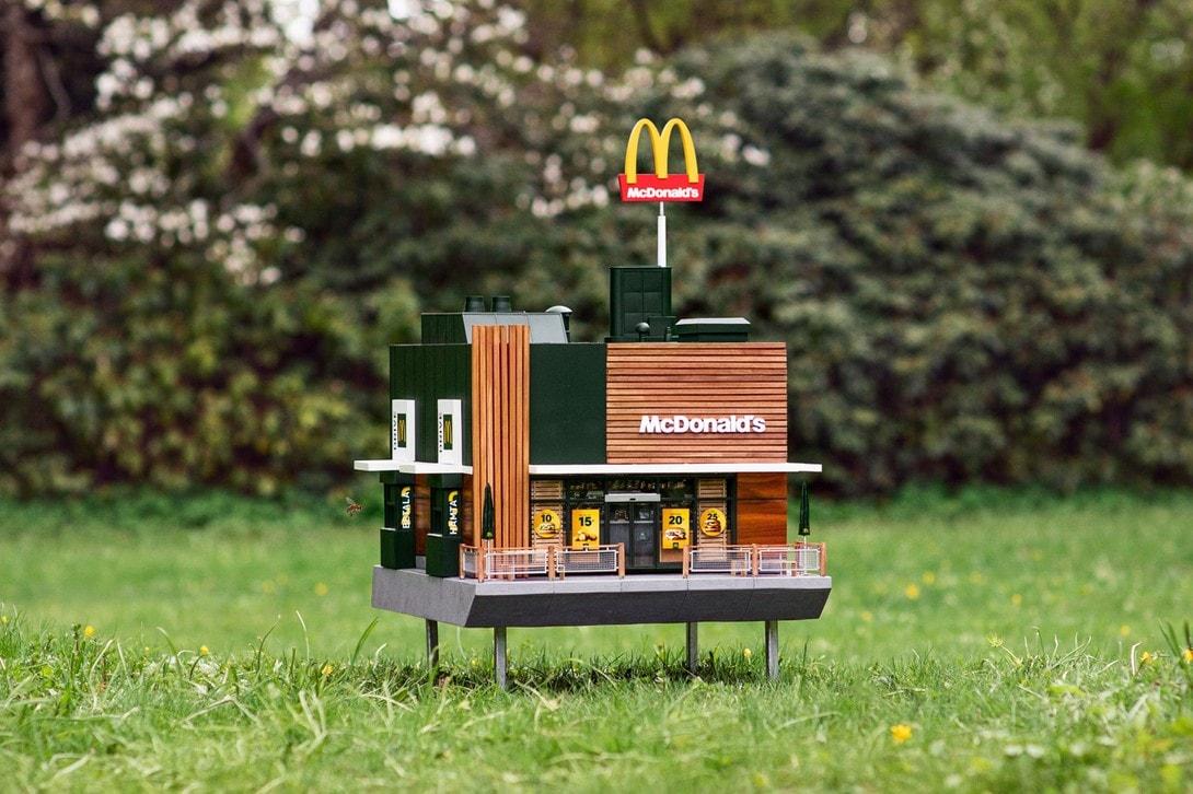 McDonald's McHive Bees Restaurant Sweden