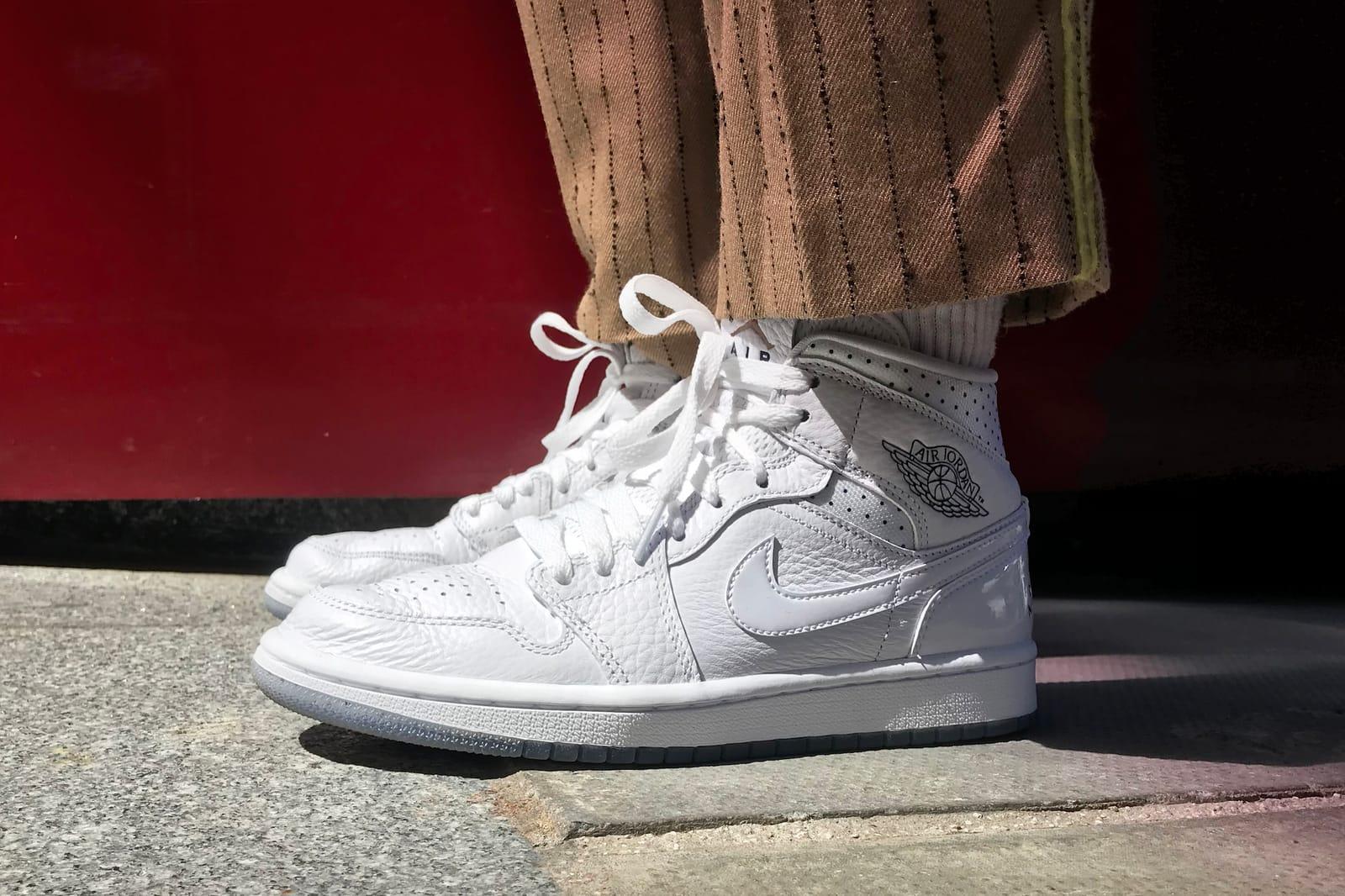"Nike Air Jordan 1 Mid ""Unité Totale"" Review   HYPEBAE"