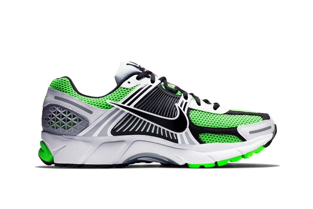 729abe4f38e69 Nike Zoom Vomero 5 SE SP Electric Green Black New Balance 997 White Peach  SB x