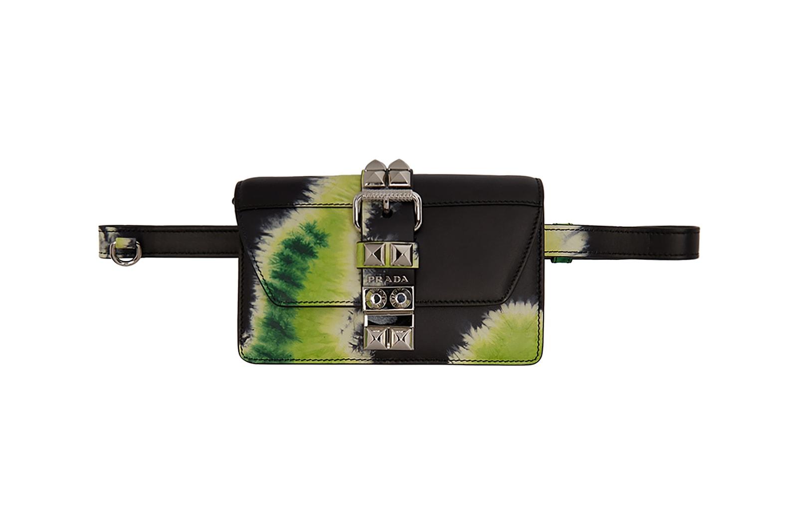 prada ssense tiedye tie dye spring summer bags wallets iphone case card holder bag wallet jacket shorts