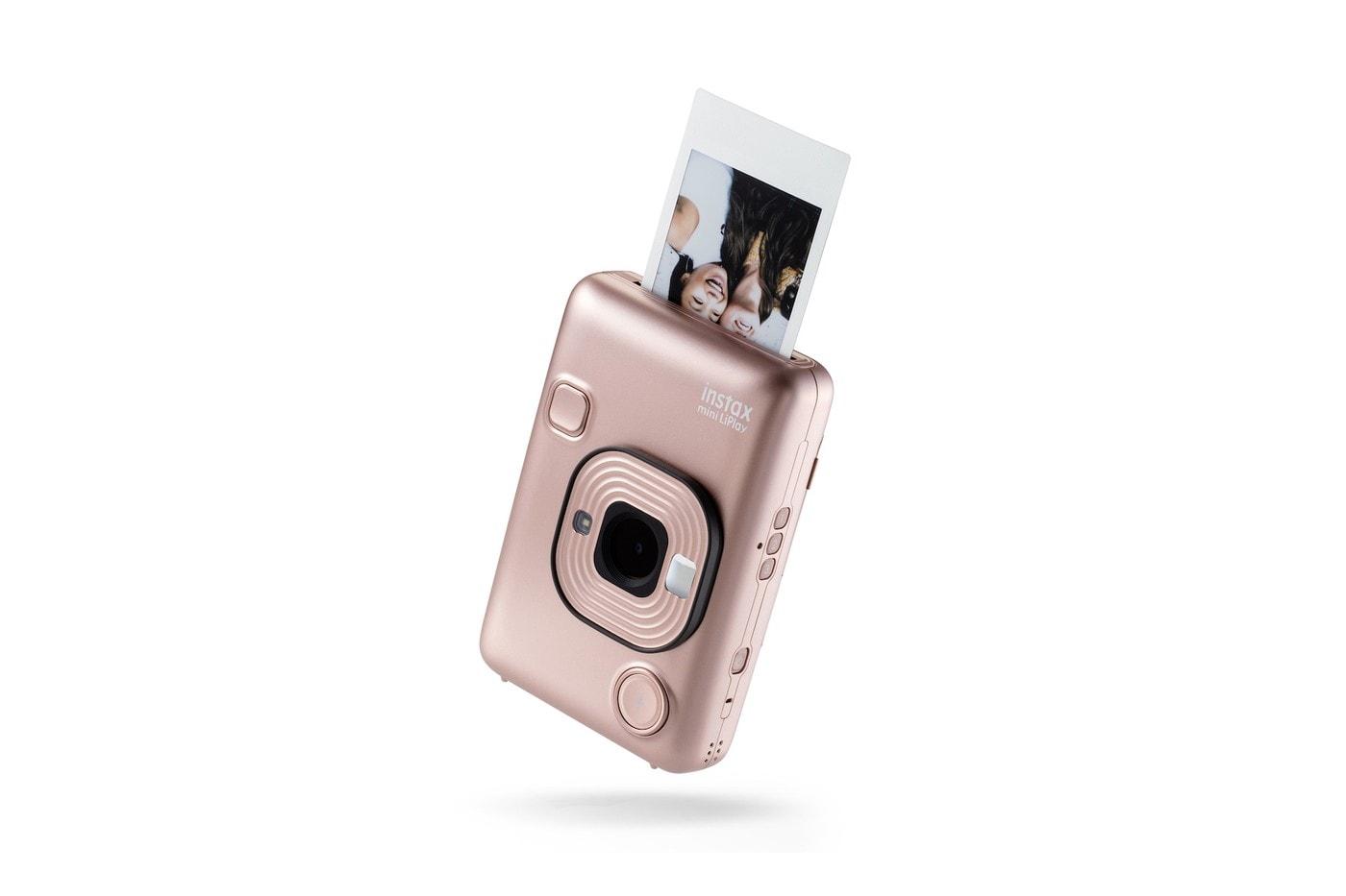 """Instant Camera Fujifilm instax SQUARE SQ6 in """"Blush Gold"""