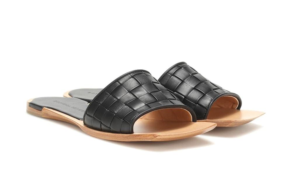 burberry nova check slides gucci pink logo cutout sandals luxury brand designer