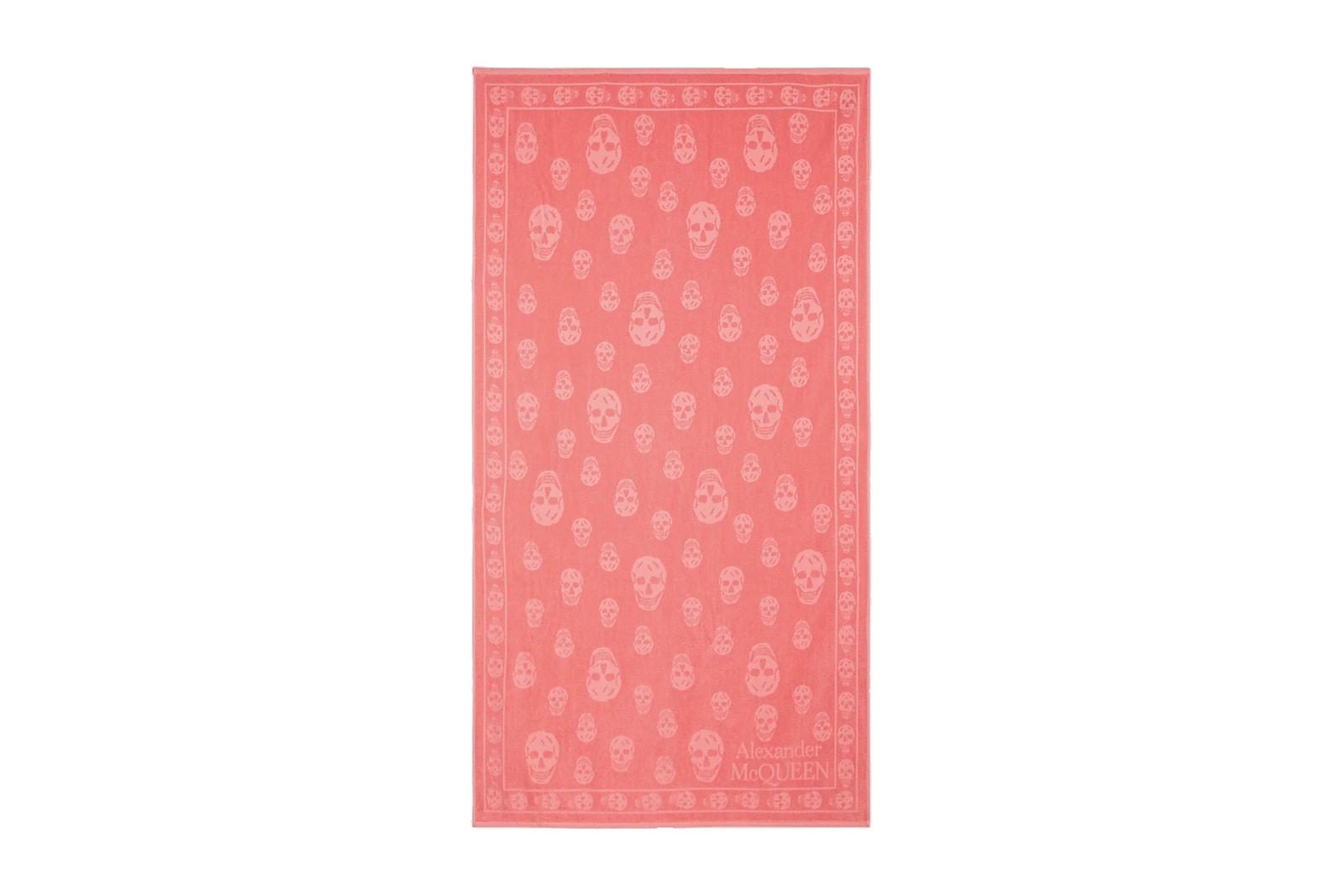 Designer Beach Towels Fendi Balmain Givenchy Loewe Alexander Wang adidas Alexander McQueen Summer
