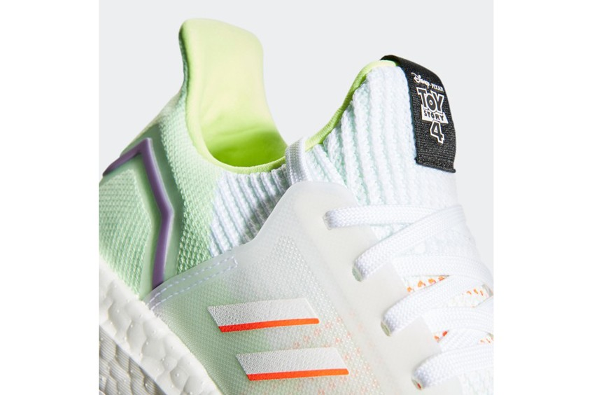 adidas Toy Story 4 Pixar Disney Collection UltraBOOST 19 Buzz White Green