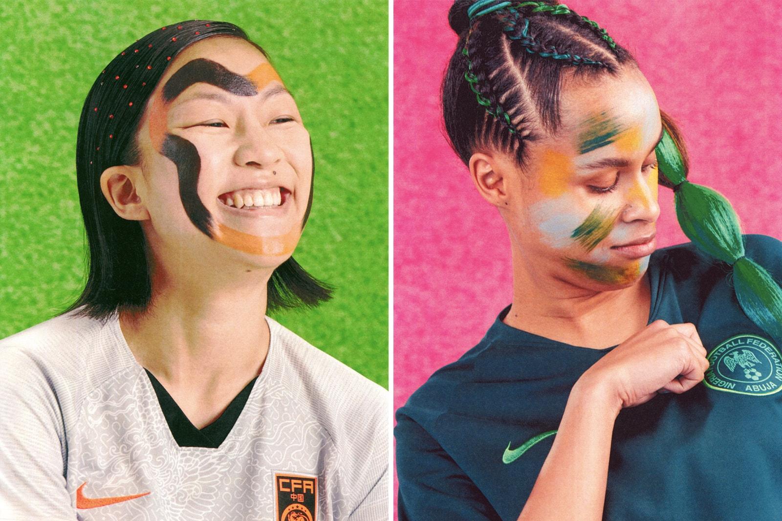Women's World Cup Nike Football Soccer Kit Jersey Designer Interview Cassie Looker FIFA 2019