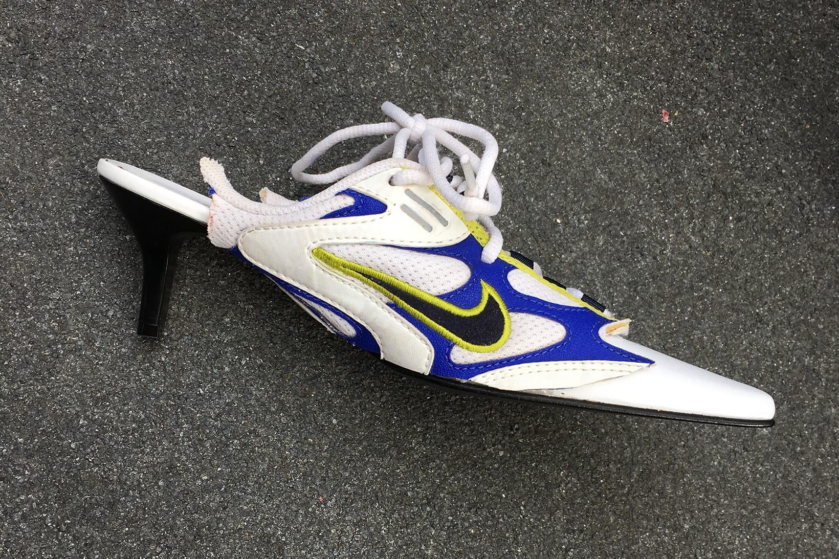 Ancuta Sarca Nike Sneakers Kitten Heel