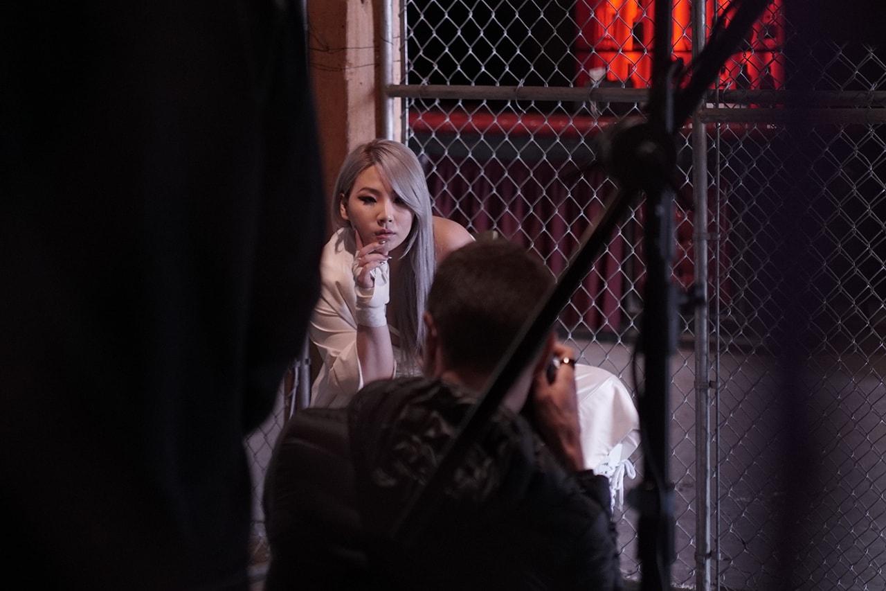 CL K-Pop Star Singer Artist Celebrity Urban Decay Pretty Different Cosmetics Campaign Makeup Ambassador Spokesperson 2019