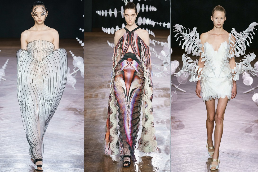 Paris Couture Week Fall 2019 Best Fashion Shows Chanel Dior Maison Margiela Valentino Iris Van Herpen Guo Pei Pierpaolo Piccioli Virginie Viard John Galliano