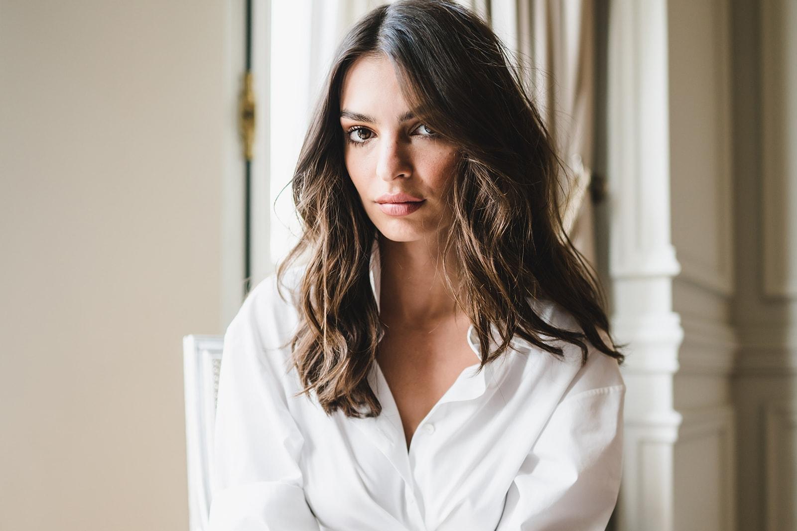 Emily Ratajkowski Emrata Natural Beauty Routine Tips Skincare Haircare Interview Kerastase