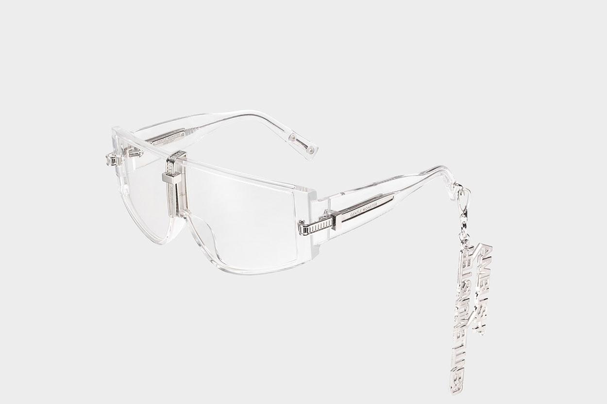ambush gentle monster yoon sunglasses eyewear zip tie