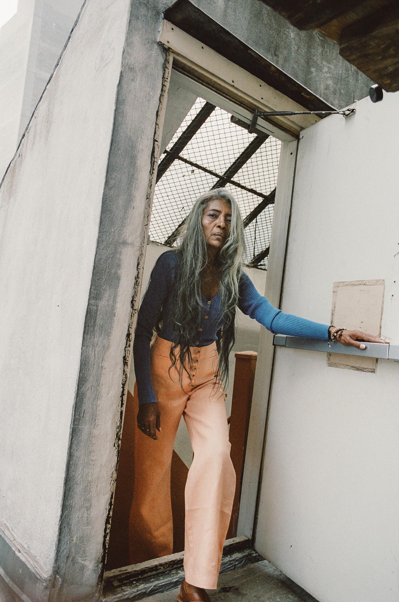 JoAni Johnson 67 Year Old Model Fenty Rihanna Campaign New York Editorial Grey Hair Gray Long Beauty Diversity Fashion