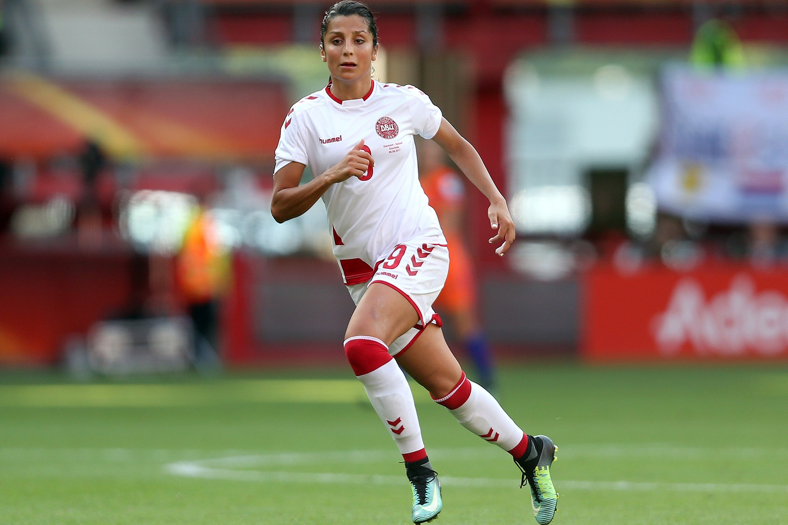 Nadia Nadim Female Footballer Nike Gurls Talk Adwoa Aboah Video documentary russia south africa paris football women's soccer activism human rights Unesco PSG Manchester City