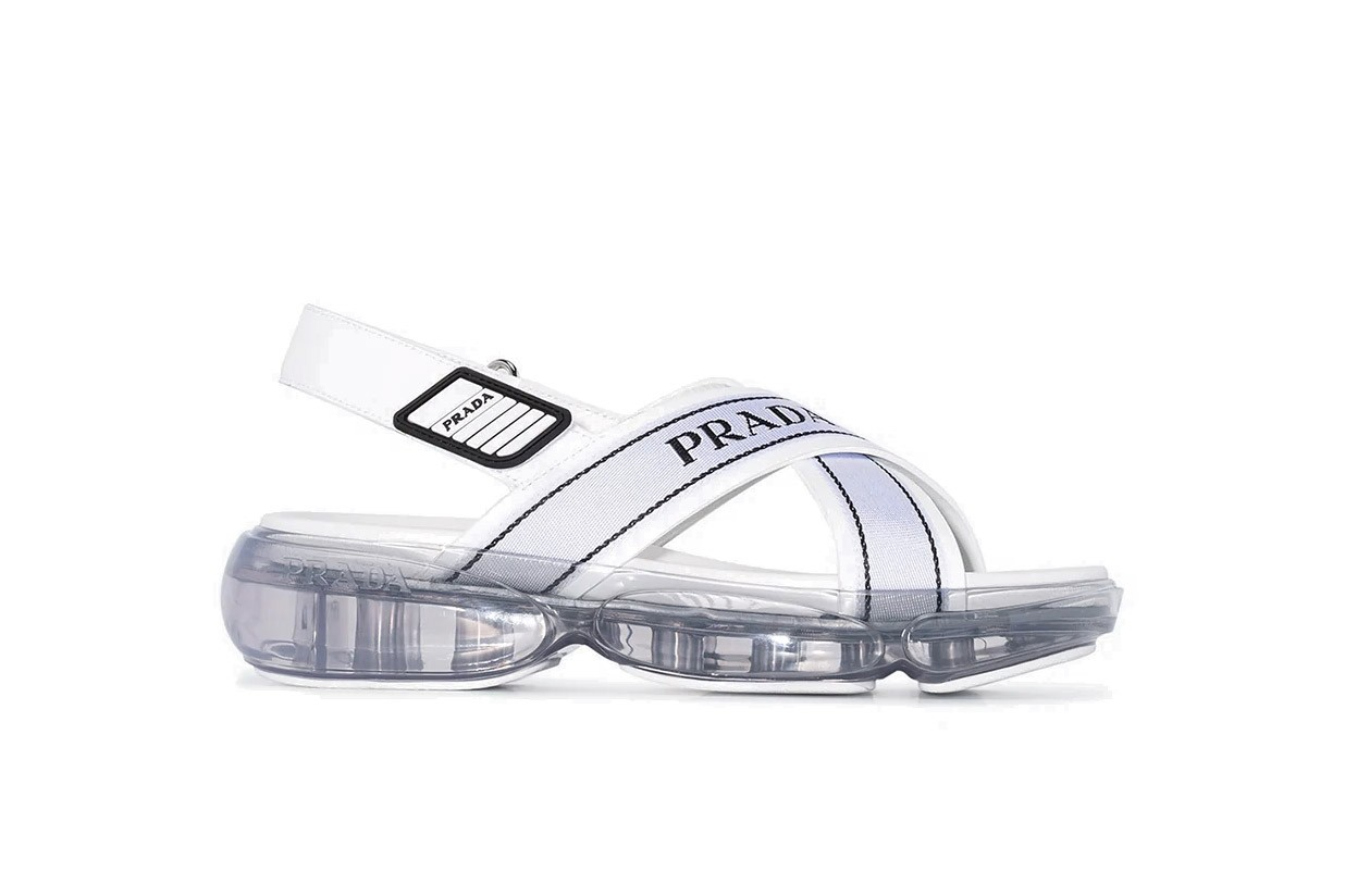 Best Summer Sandals From Prada, Gucci Versace adidas Originals Birkenstocks Flip Flop Alternatives Slides Summer Shoes Pool beach