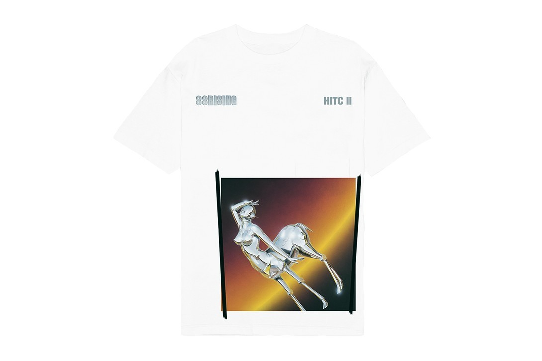 88rising hajime sorayama head in the clouds ii album collaboration sexy robot t-shirts sweatshirts hoodies joji higher brothers