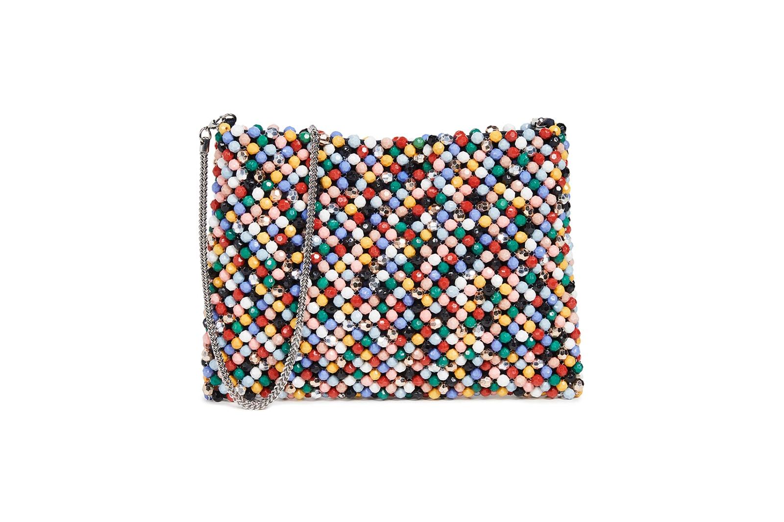affordable designer beaded bags rixo loeffler randall truss