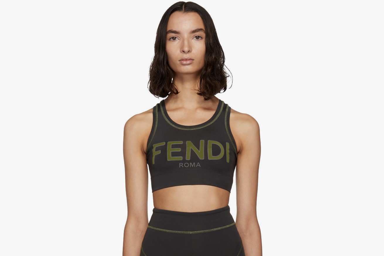 5 Fashionable Sports Bras Fendi, Nike and more Palm Angels Vetements Off-White Luxury Accessory Sporty Athleisure Fashion Trend