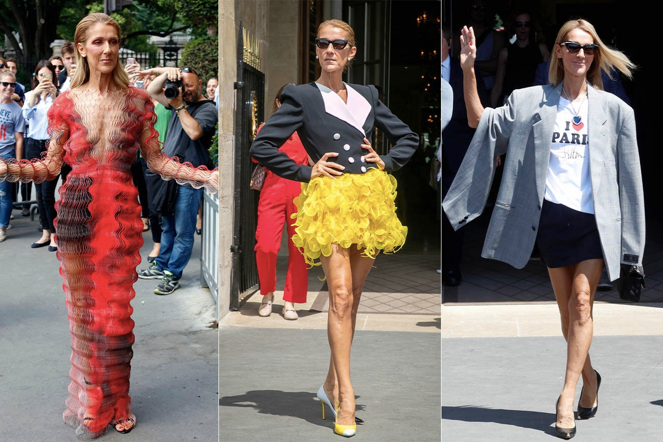 How Céline Dion Became the Unlikely Fashion Icon of 2019 Stylist Law Roach Fashion Age Vetements Off-White Style Balenciaga Iris Van Herpen Statement
