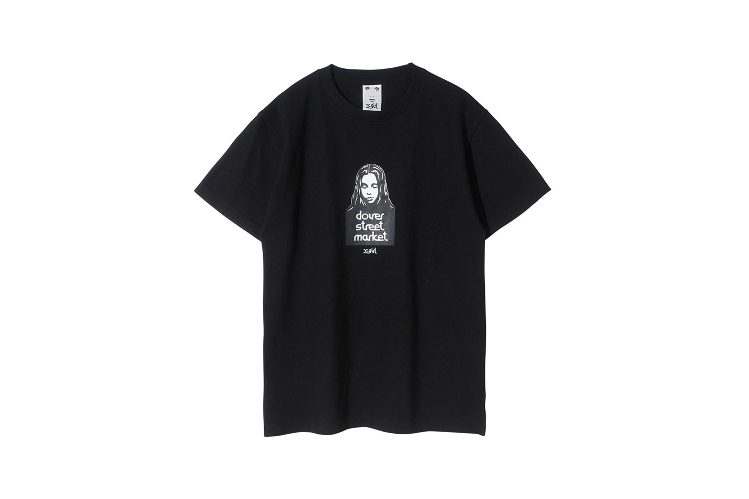 dover street market x-girl london dsml pop-up collaboration t-shirts dresses womens streetwear