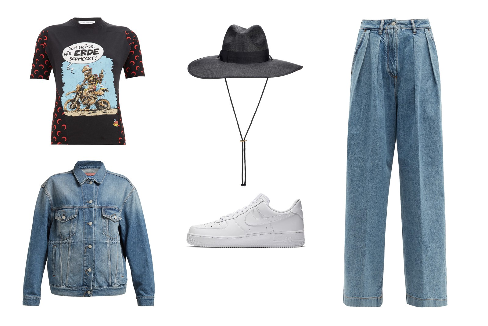 How To Wear The Cowboy Hat Fashion Trend Style Gucci Saint Laurent Acne Studios Outfit Inspiration Nike Marine Serre