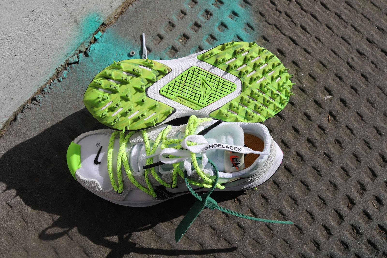 Off-White™ x Nike Zoom Terra Kiger 5 Review Virgil Abloh Sneaker Shoe Trainer Footwear Design Hyped Shoe