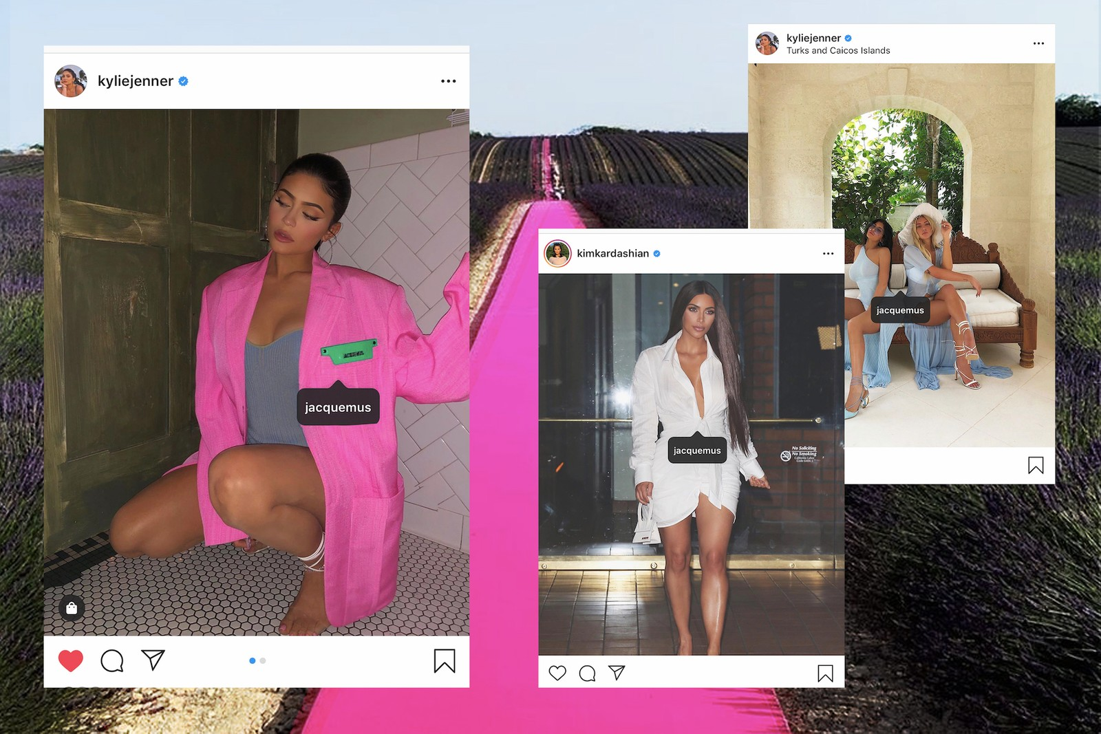 How Jacquemus Concquered the Internet Fashion Designer Trend Instagram Influencer La Bomba Le Petit Chiquito Mini Bag Hat Kylie Jenner Kim Kardashian Hailey Bieber Emily Ratajkowski