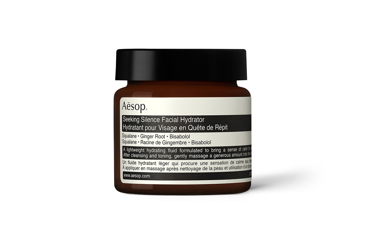 Aesop Seeking Silence Facial Hydrator Skincare Beauty Sensitive Skin Dry Winter Cold