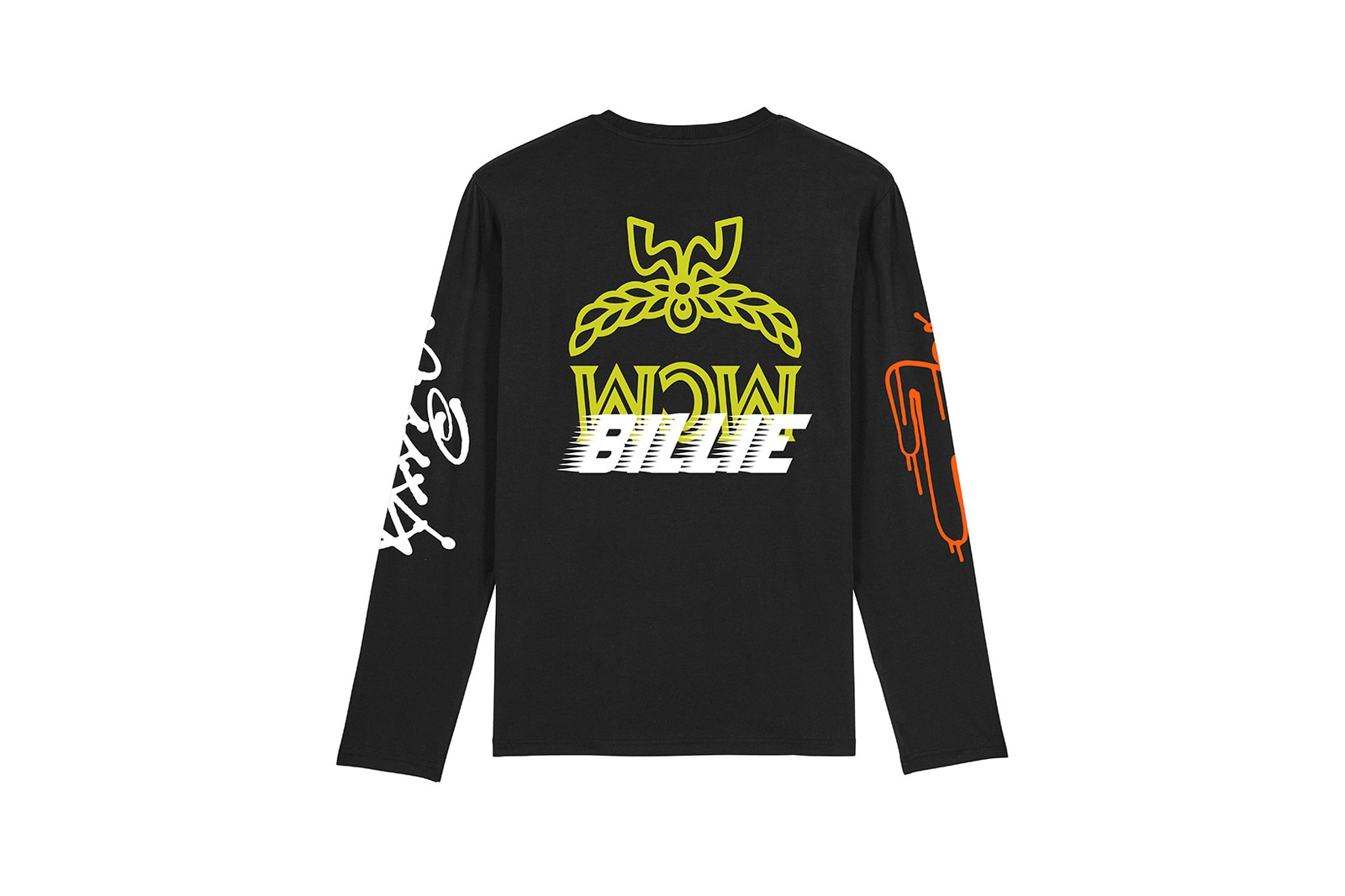 billie eilish mcm pop up store 1976 berlin flagship collaboration blohsh merch hoodies shirts