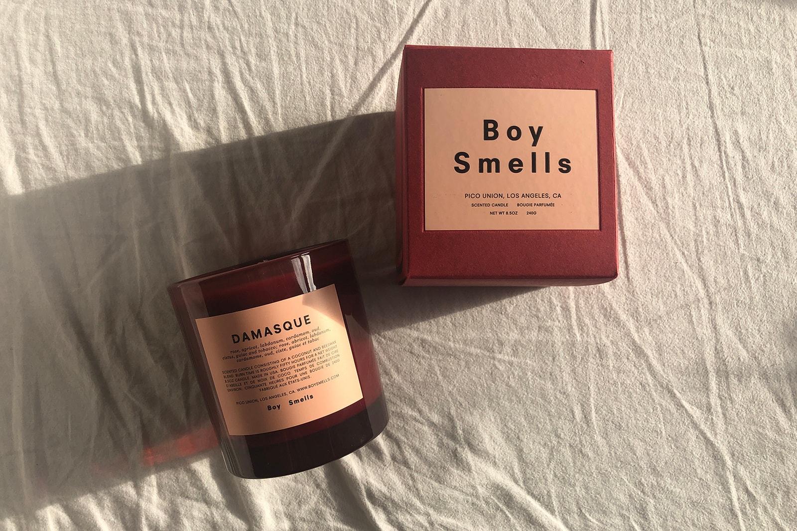 Boy Smells Damasque Candle Chromesthesia Series 2 Philia Cameo De Nimes Homeware Gifts