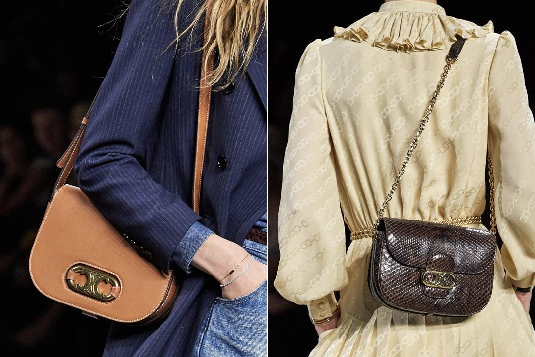CELINE Spring/Summer 2020 Runway Show Hedi Slimane Paris Fashion Week Lalisa Blackpink Celebrity Guests Accessories Collection